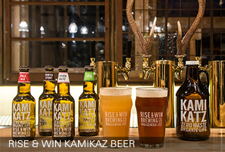 RISE & WIN KAMIKAZ BEER